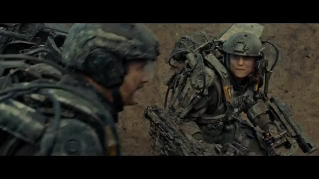 Edge of Tomorrow - Is that the new guy?