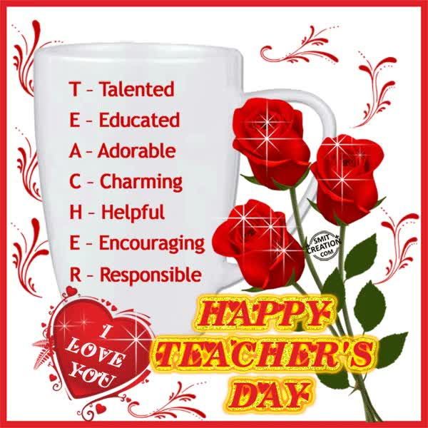 Watch and share HAPPY TEACHER'S DAY GIFs on Gfycat