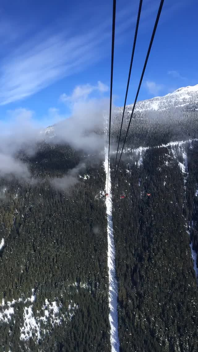 Watch Peak 2 Peak Gondola GIF on Gfycat. Discover more MachinePorn, imagesofcanada GIFs on Gfycat
