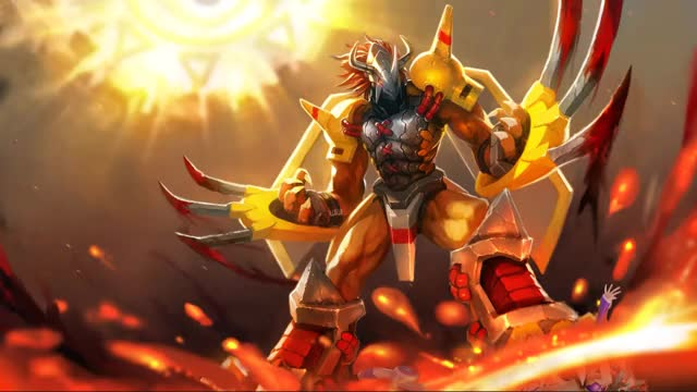 Watch [Wallpaper Engine] Wargreymon ~ Blazing Carnage GIF by @zamtuna on Gfycat. Discover more related GIFs on Gfycat