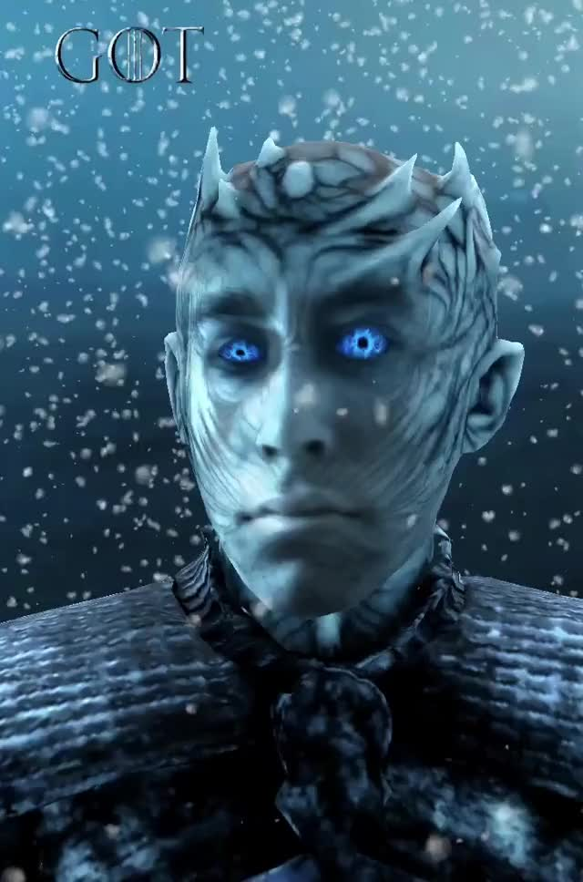 Watch and share Game Of Thrones GIFs and Night King GIFs by John D Gfycat person place thi on Gfycat