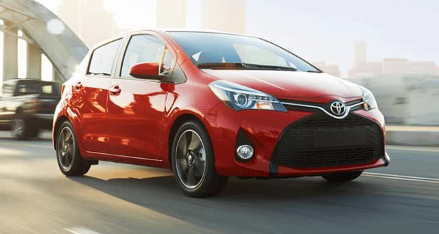Watch and share 2015 Toyota Yaris Adds LED Style And Standard Touchscreen Audio! GIFs on Gfycat