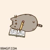 Watch and share Gato Escribiendo GIFs on Gfycat