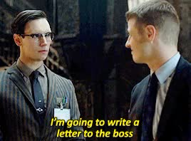 Watch and share Cory Michael Smith GIFs and Nygma Is Adorable GIFs on Gfycat