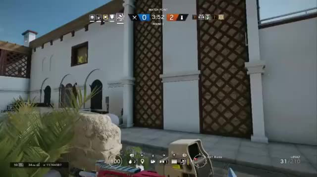 Watch and share Spider-Sledge - Rainbow6 2 GIFs on Gfycat