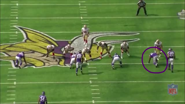 Watch 49ers Griffen hit Annotated GIF by @whirledworld on Gfycat. Discover more football GIFs on Gfycat