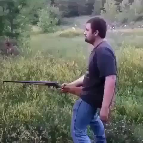 Watch and share Shooting A Gun From The Groin GIFs by tothetenthpower on Gfycat