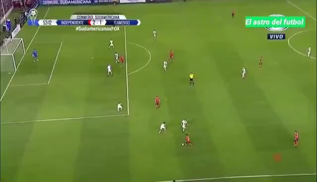 Watch and share Gol De Meza Independiente 2 Vs Flamengo 1 Final Copa SUDAMERICANA - GIFs on Gfycat
