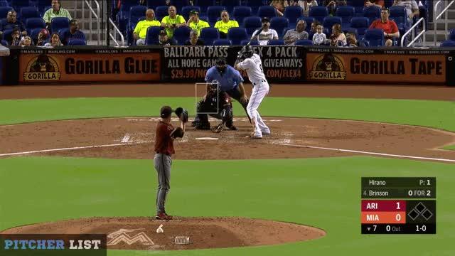 Watch Hirano FS GIF on Gfycat. Discover more Arizona Diamondbacks, Miami Marlins, baseball GIFs on Gfycat