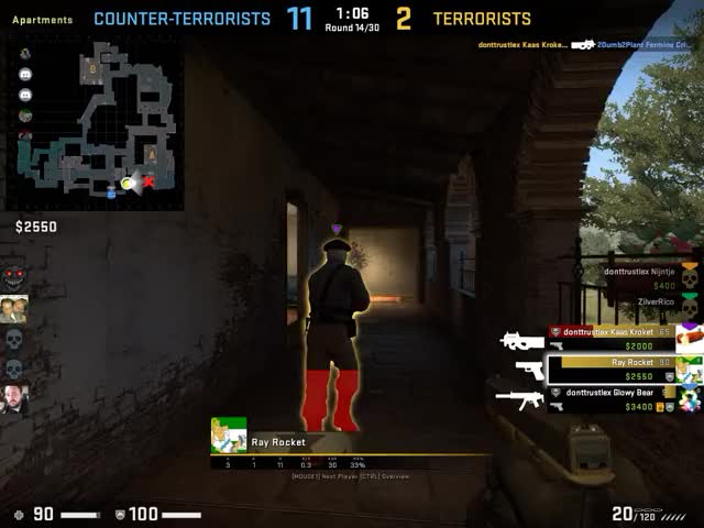 Watch and share CSGO: Bye Bye P90 GIFs by zilverrico on Gfycat