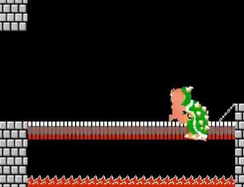Watch and share Mario's Invincible Song (Original) GIFs on Gfycat