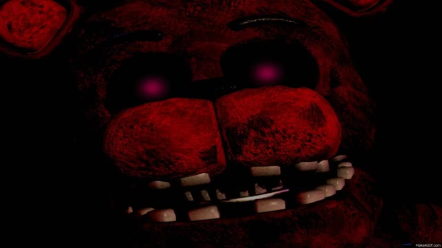 Watch and share Nightmare Freddy Jumpscare (FAN MADE) V2 GIFs on Gfycat