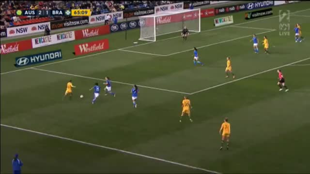 Watch Sam Kerr Goal 3-1 Australia vs Brazil Sept17 GIF on Gfycat. Discover more Matildas, australia, brazil, soccer GIFs on Gfycat