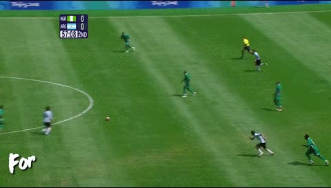 Watch and share Angel Di Maria. Nigeria - Argentina. 2008 GIFs by fatalali on Gfycat