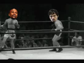 Watch More Funny and Hilarious Gifs >> GIF on Gfycat. Discover more GIF, boxing, fight, fights, floyd mayweather, manny pacquiao, mayweather, pacquiao, recaps GIFs on Gfycat