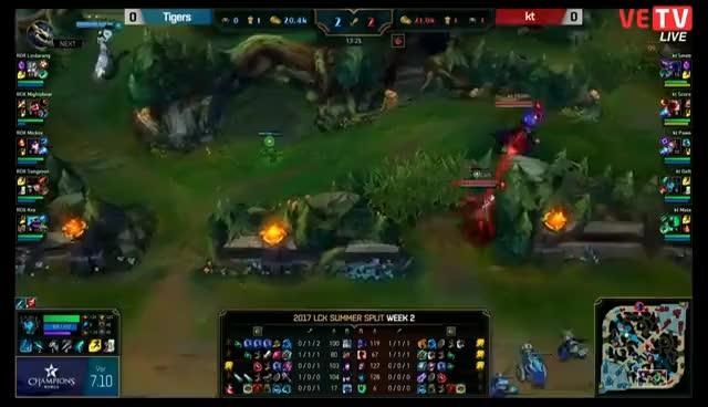 [06.06.2017] Tigers vs KT [LCK Mùa Hè 2017][ Ván 1]