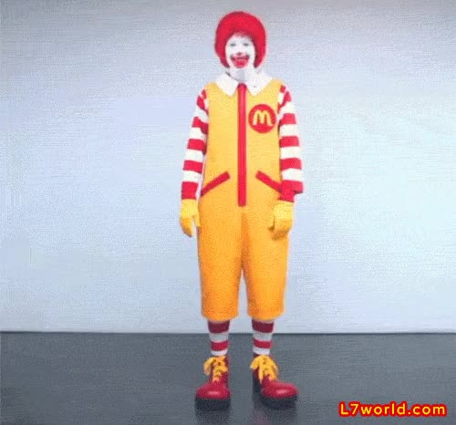 Watch and share Ronald Mcdonald GIFs on Gfycat