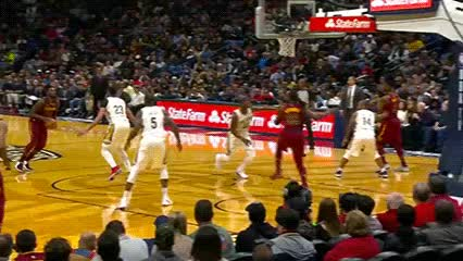 Watch and share Jeff Green — Cleveland Cavaliers GIFs by Off-Hand on Gfycat