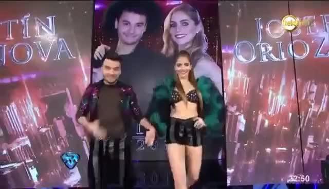 Watch and share Agustín Casanova De Márama Debutó En ShowMatch GIFs on Gfycat