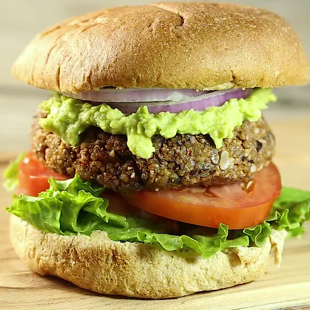 Watch and share Black Bean Burger GIFs and Vegetarian GIFs by sydbobyd on Gfycat