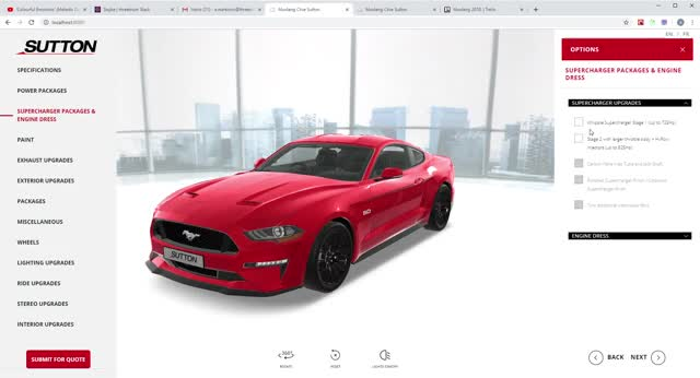 Watch and share Mustang Clive Sutton - Google Chrome 4 12 2019 2 46 47 PM GIFs on Gfycat