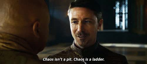 Watch and share Game Of Thrones Little Finger Quote Picture Quote GIFs on Gfycat