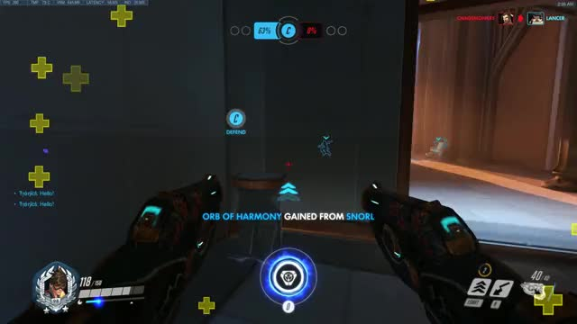 Watch When you are living in 3019 and the enemy is stuck in 2019 GIF by @massacre on Gfycat. Discover more overwatch GIFs on Gfycat