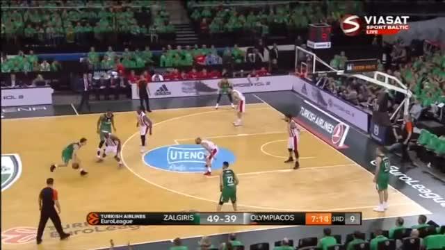 Olympiacos Athens @ Kaunas Žalgiris - 4/24/2018 GIF | Find