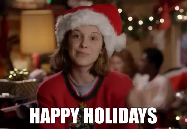 Watch and share Happy Holidays GIFs and Holiday GIFs by GIF Machine on Gfycat