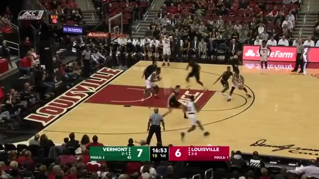 Watch Vermont - Louisville GIF on Gfycat. Discover more People & Blogs, basketball, hornburner uploads GIFs on Gfycat