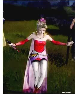 Watch and share Lightning Farron GIFs and Warrior Of Light GIFs on Gfycat