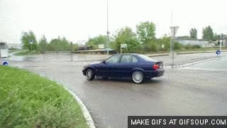 Watch and share Bmw 325 Tds Front Drift GIFs on Gfycat