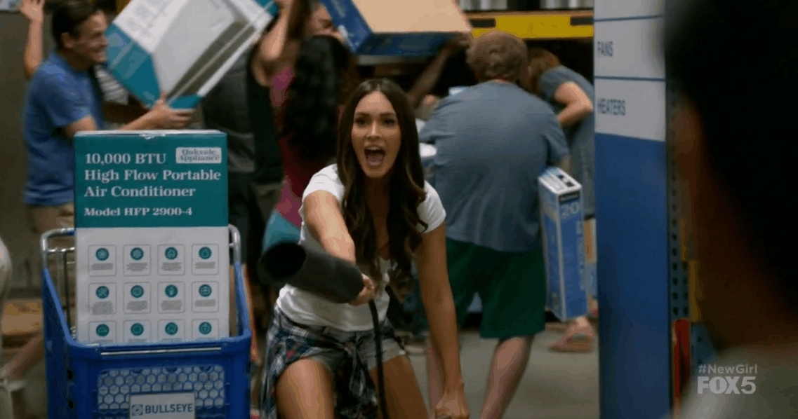 meganfox, Shopping GIFs
