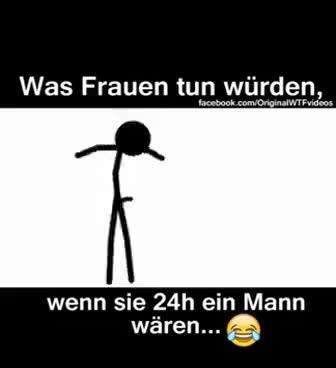 Watch and share Was Frauen Tun Würden Wenn Sie 24h Ein Mann Weren😅 GIFs on Gfycat