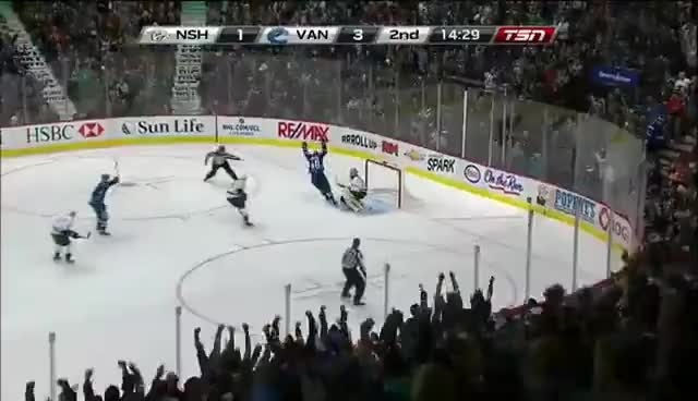 Watch Lappy after 4-1 goal against the Preds GIF on Gfycat. Discover more Canucks GIFs on Gfycat