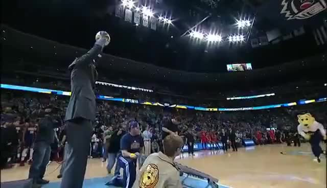 Watch Denver Nuggets Mascot GIF on Gfycat. Discover more denver nuggets, dikembe mutombo, nba, nuggets mascot GIFs on Gfycat