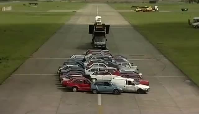 Watch and share World Record Car Jump #TBT - Fifth Gear GIFs on Gfycat