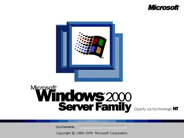 Watch Windows 2000 Server Family PL boot screen by oscareczek GIF on Gfycat. Discover more related GIFs on Gfycat