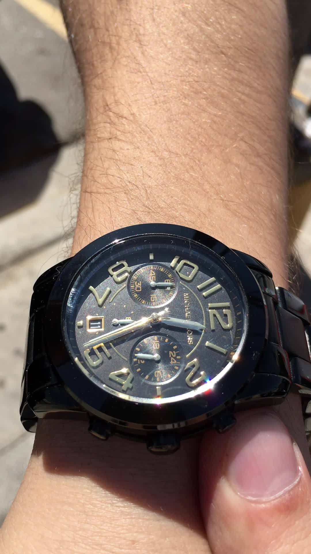 mildlyinteresting, The Sunlight effect on this watch GIFs