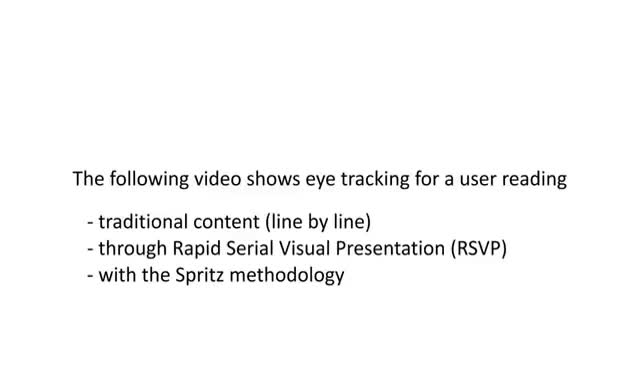 Watch Spritz Eye Tracking Demonstration GIF on Gfycat. Discover more related GIFs on Gfycat