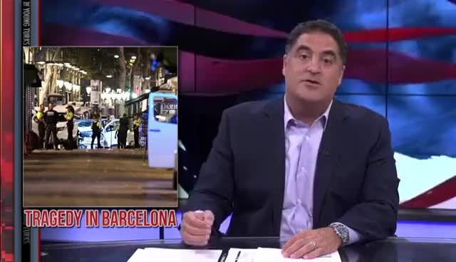 Watch Barcelona Rocked By Terrorist Attack GIF on Gfycat. Discover more cenk uygur GIFs on Gfycat