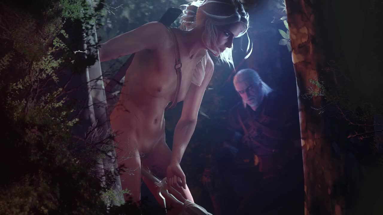 Ciri From The Witcher Fucks A Sword GIF by terros