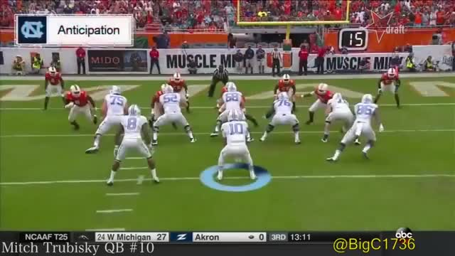Watch and share College Footbal GIFs and Mitch Trubisky GIFs on Gfycat