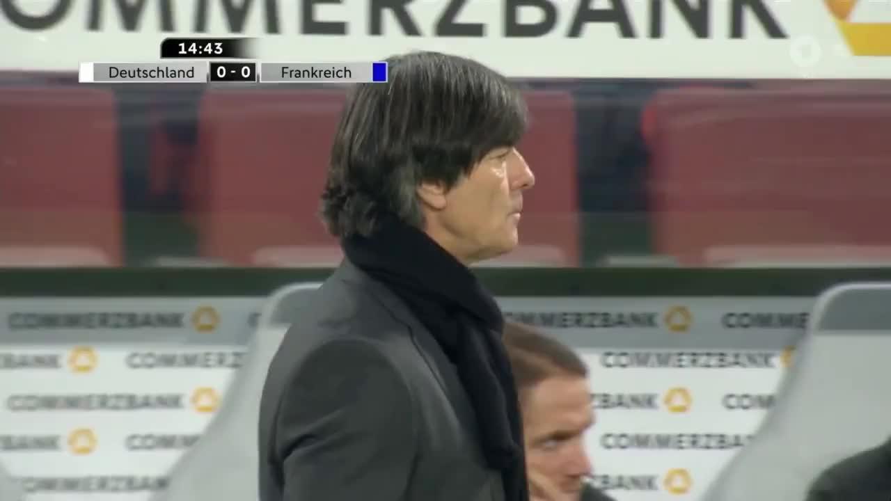 Deutschland vs Frankreich Länderspiel 14.11.17 GIFs