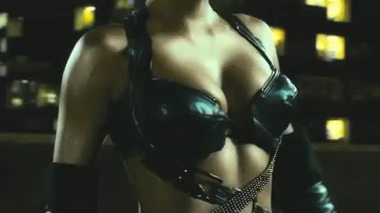 Watch and share Halle Berry Catwoman Black Bra Gif GIFs on Gfycat