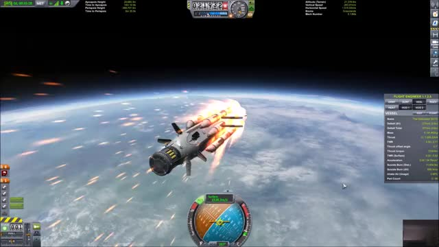 Watch The Deliverator re-entry GIF by @selfishmeme on Gfycat. Discover more kerbalspaceprogram GIFs on Gfycat