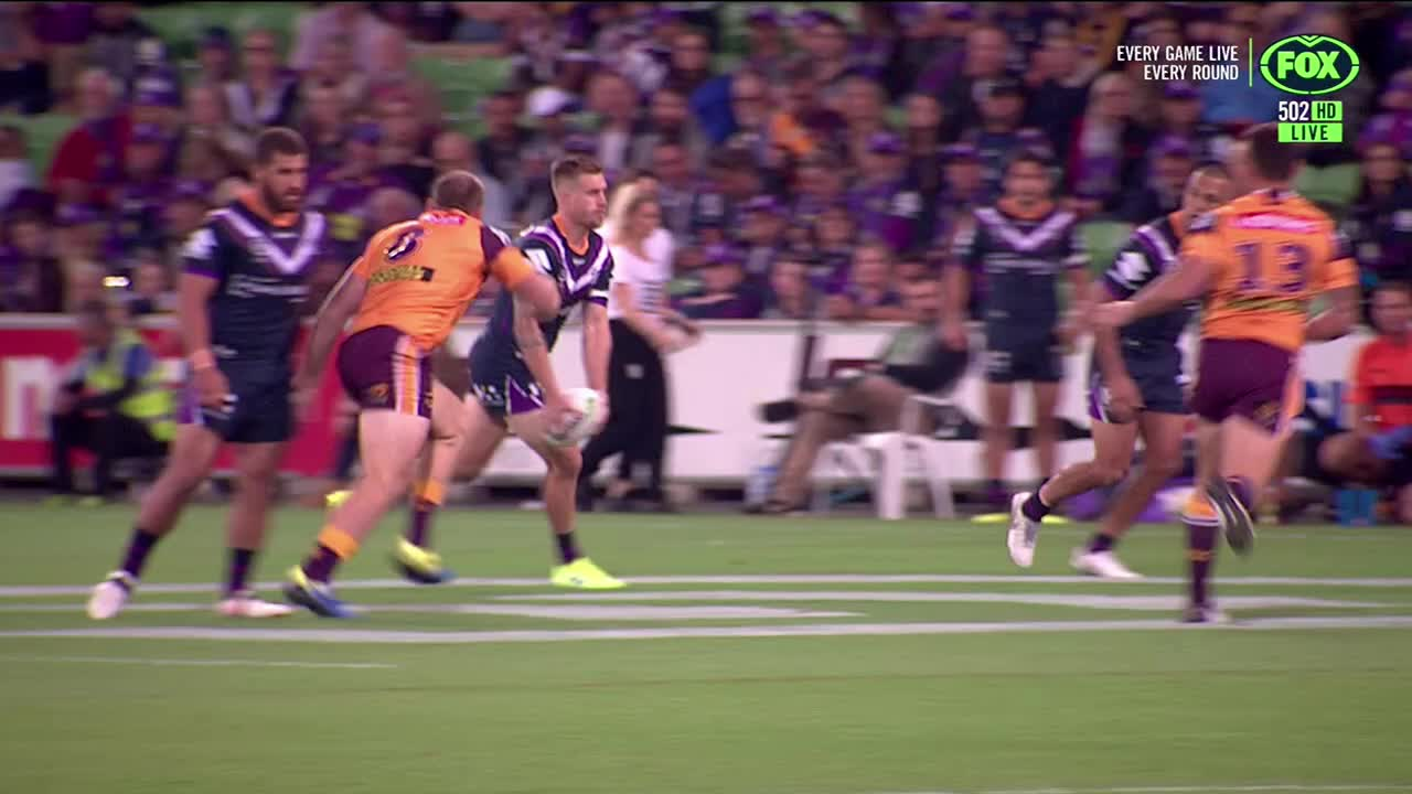 NRL, Lodge takes out Munster GIFs