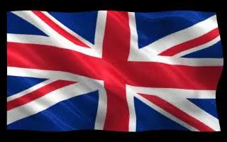 Watch and share Uk British Union Jack Flaf Gif GIFs on Gfycat