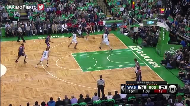 Watch and share Washington Wizards Vs Boston Celtics - Game 5 - Full Game Highlights | May 10, 2017 | NBA Playoffs GIFs on Gfycat