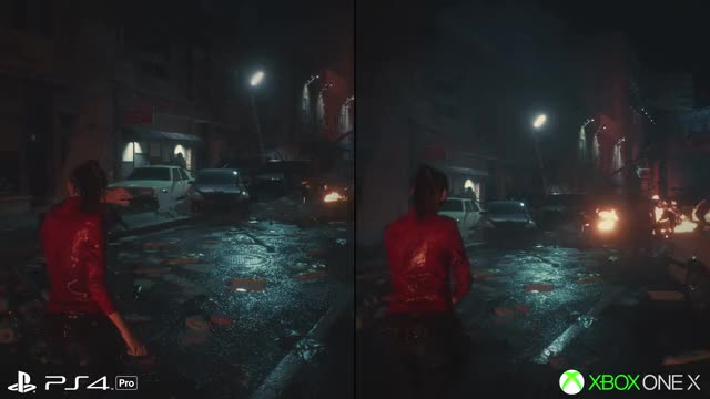 Resident Evil 2 Remake: PS4/PS4 Pro vs Xbox One/Xbox One X